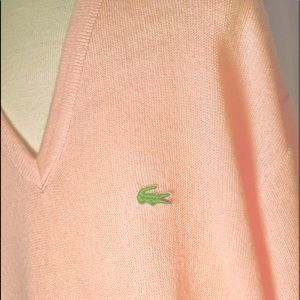 👔 Vintage 1982 Pink Izod Lacoste Men's Sweater XL